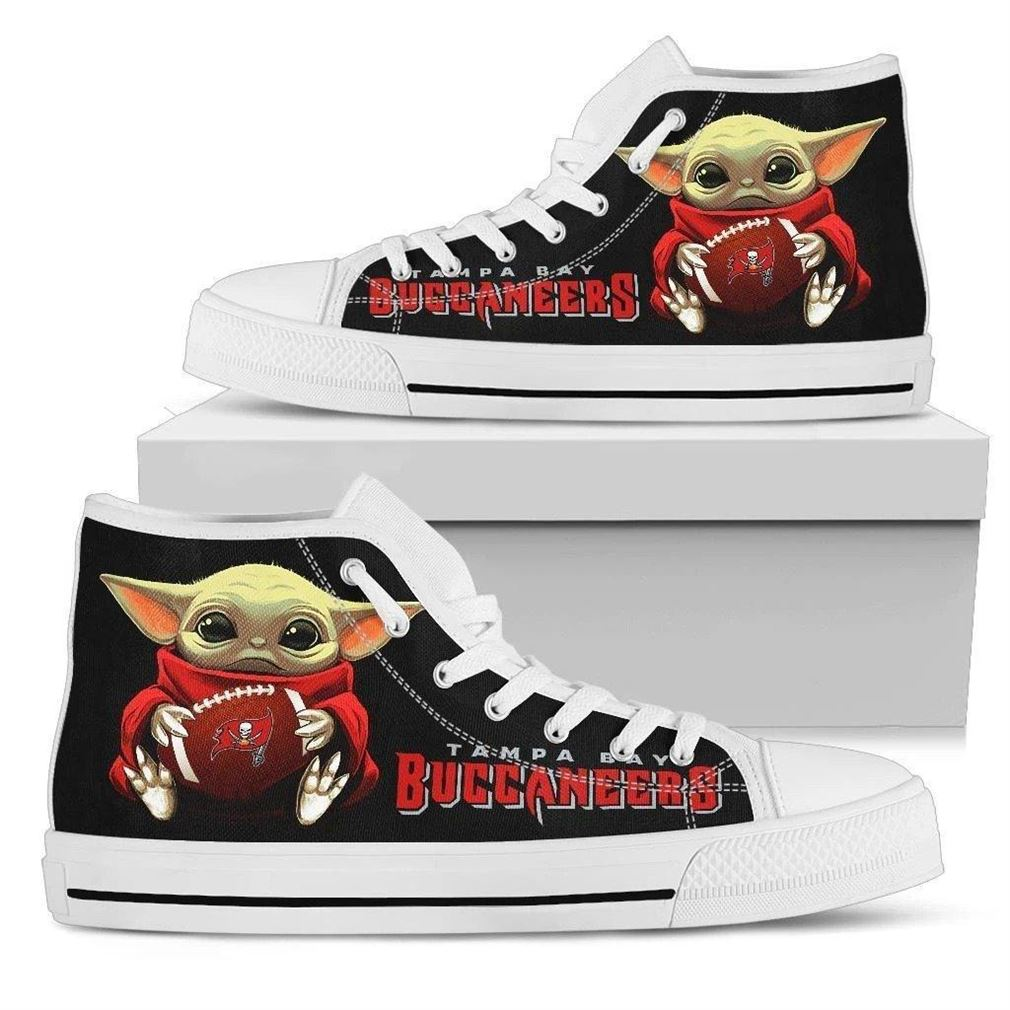 Buccaneers Nfl Football High Top Vans Shoes