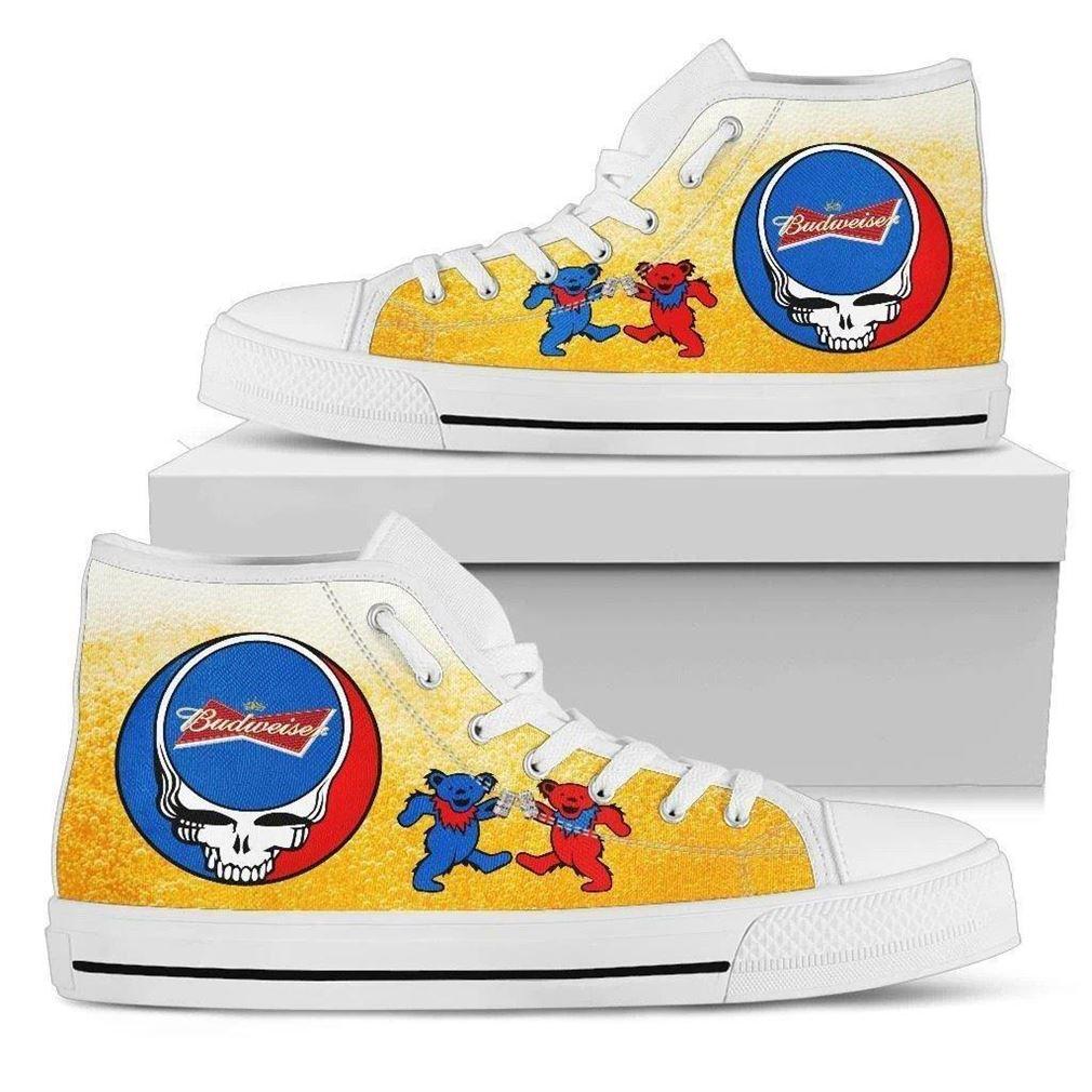 Budweiser High Top Vans Shoes