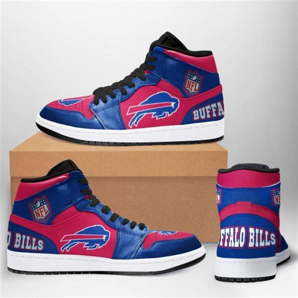 Buffalo Bills Nfl Football Air Jordan Sneaker Boots Shoes