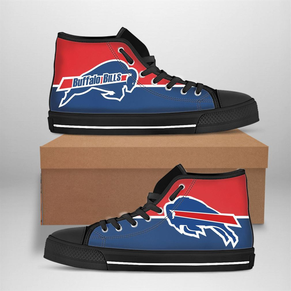 Buffalo Bills Nfl Football High Top Vans Shoes