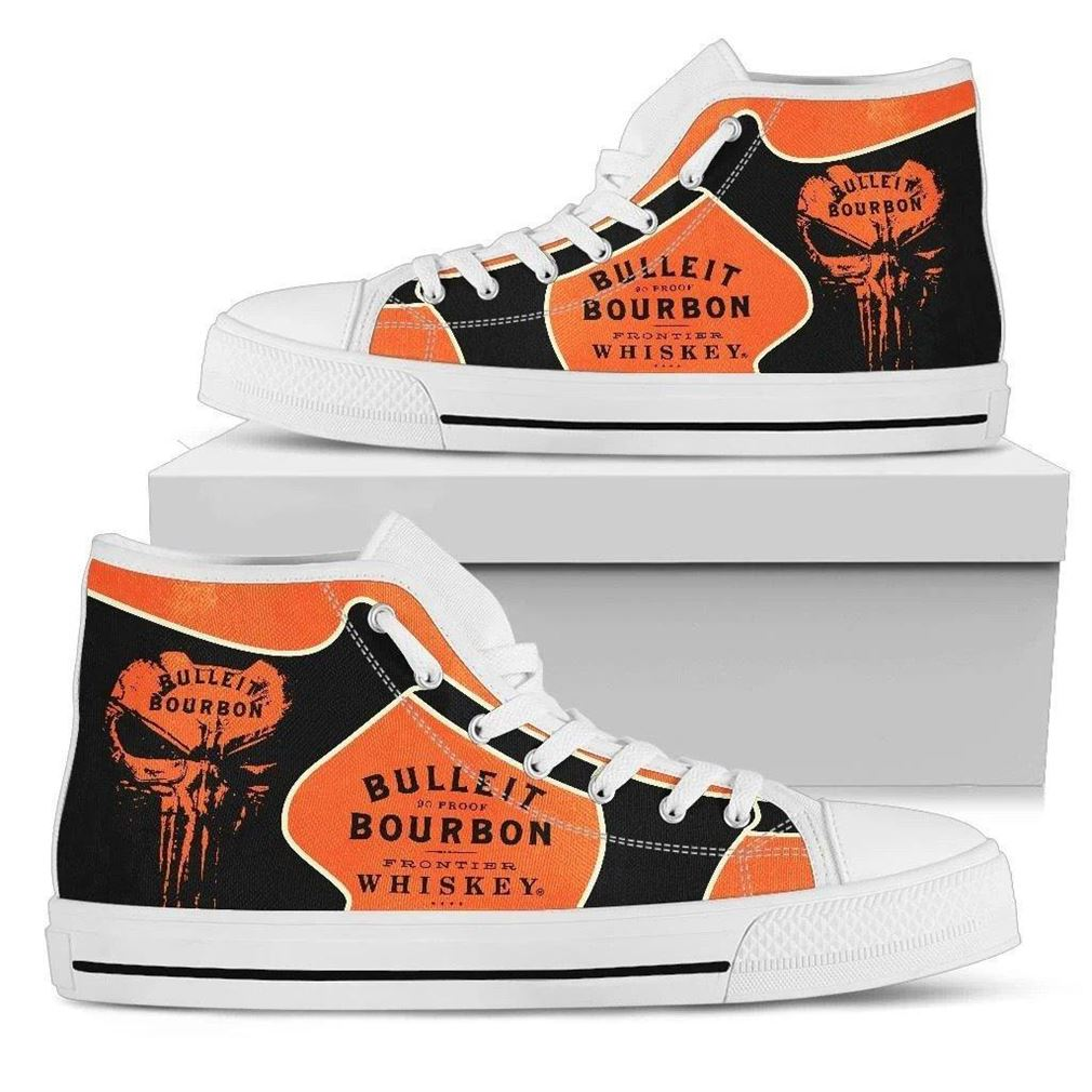 Bulleit Bourbon High Top Vans Shoes