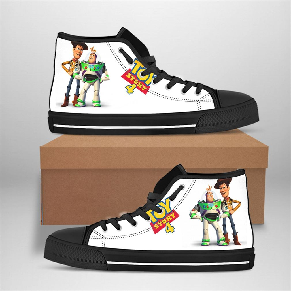 Buzz Lightyear Best Movie Character High Top Vans Shoes