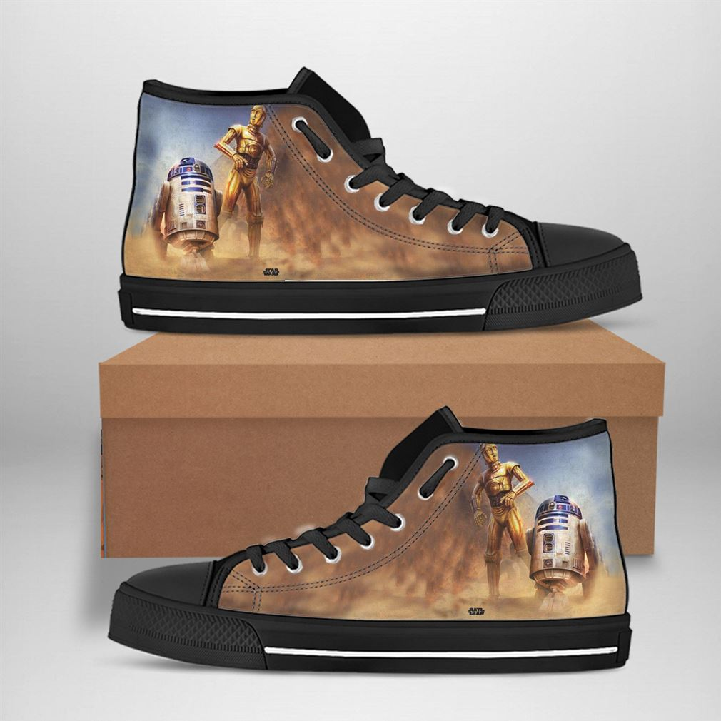 C-3po Best Movie Character High Top Vans Shoes