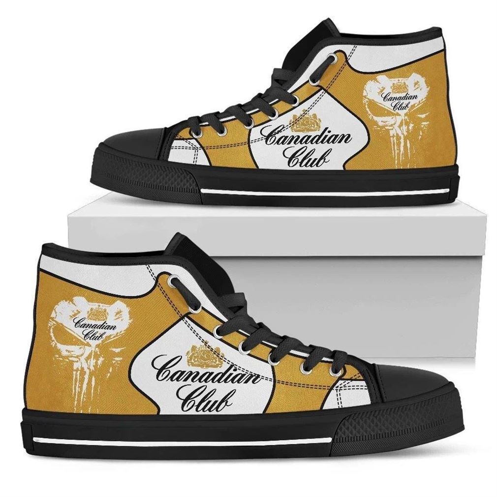 Canadian Club High Top Vans Shoes