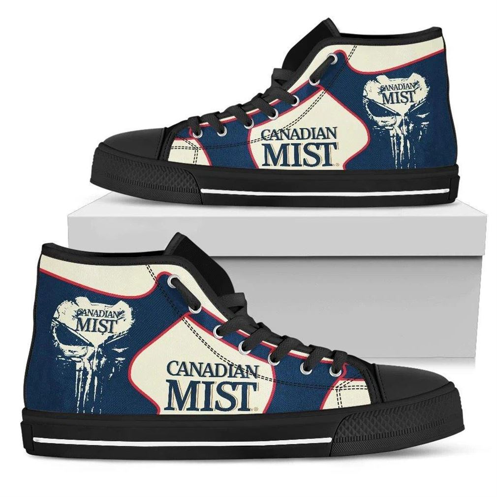 Canadian Mist High Top Vans Shoes