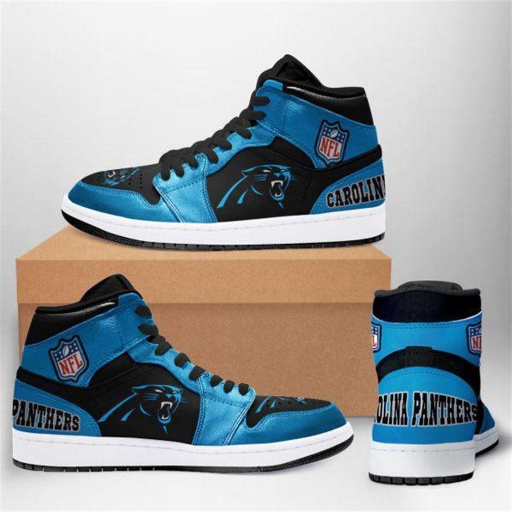 Carolina Panthers Nfl Football Air Jordan Sneaker Boots Shoes
