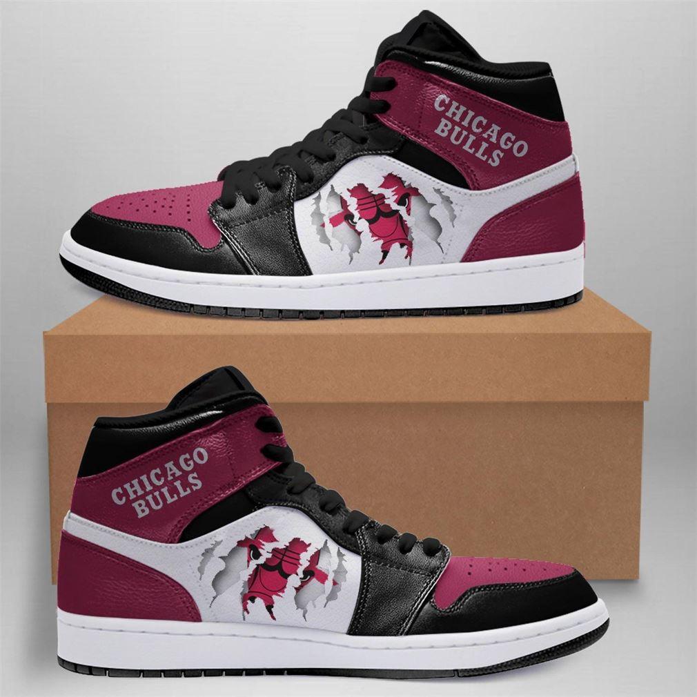 Chicago Bulls Nba Air Jordan Basketball Sneaker Boots Shoes