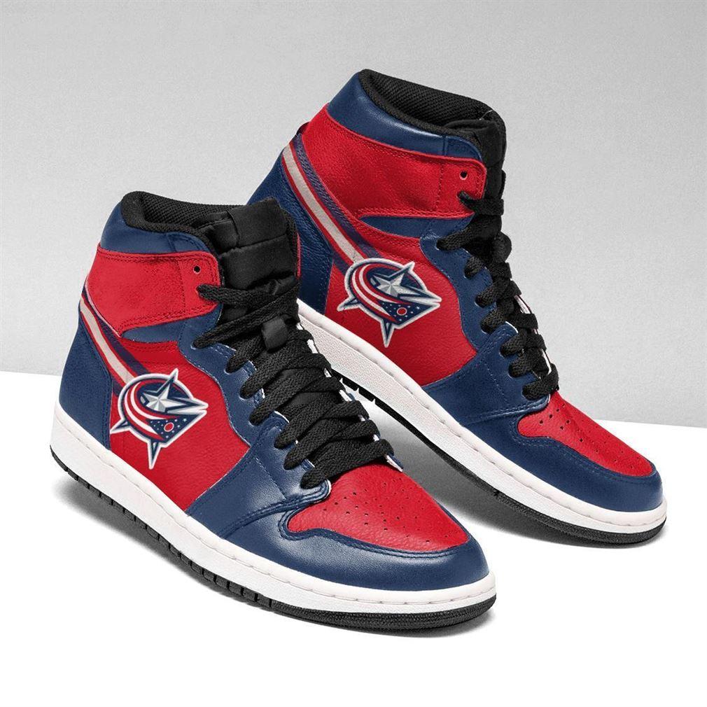 Columbus Blue Jackets Nhl Air Jordan Sneaker Boots Shoes