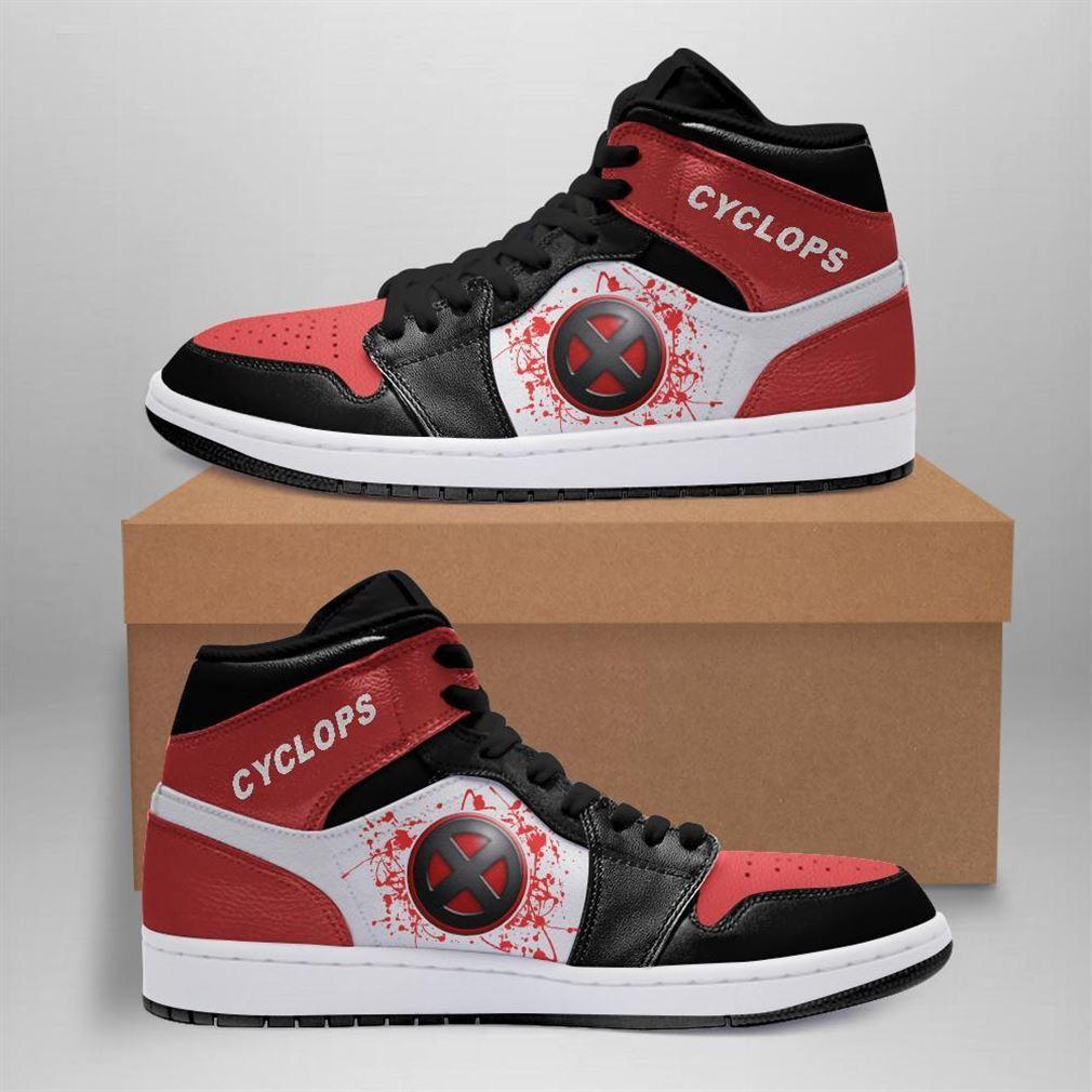 Cyclops Marvel Air Jordan Sneaker Boots Shoes
