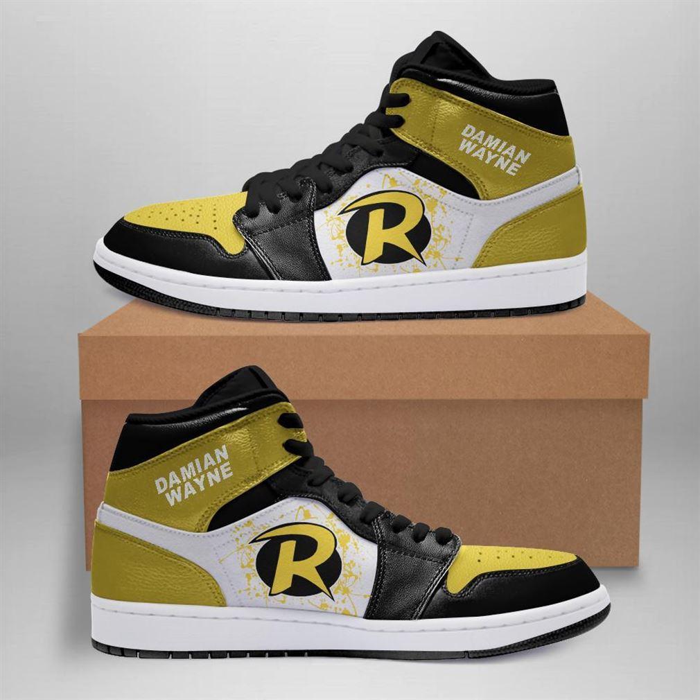 Damian Wayne Dc Comics Air Jordan Sneaker Boots Shoes
