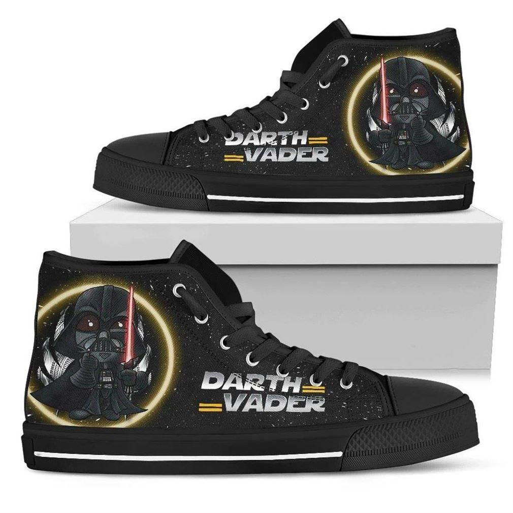 Darth Vader High Top Vans Shoes
