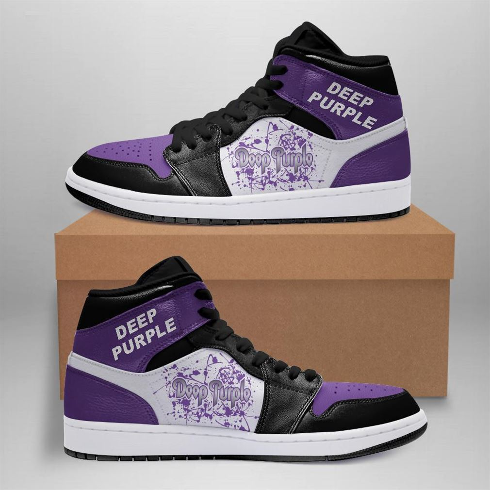 Deep Purple Rock Band Air Jordan Sneaker Boots Shoes
