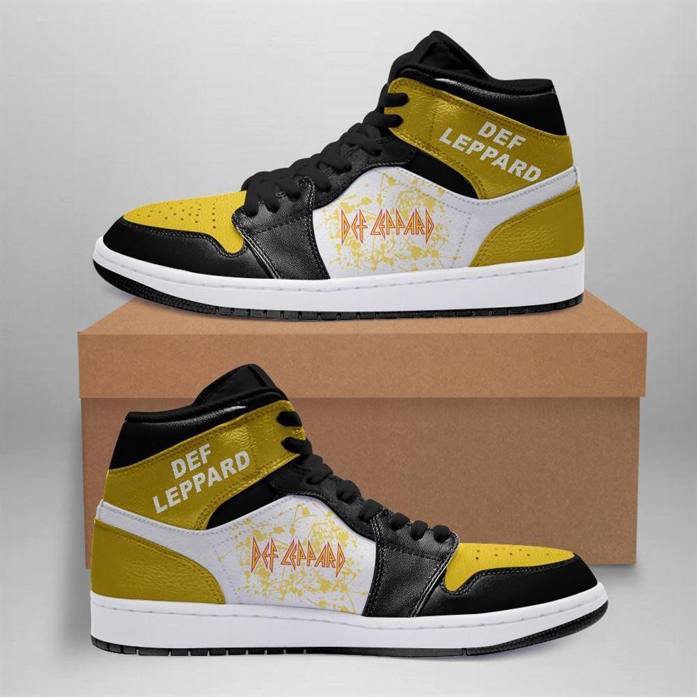 Def Leppard Rock Band Air Jordan Sneaker Boots Shoes