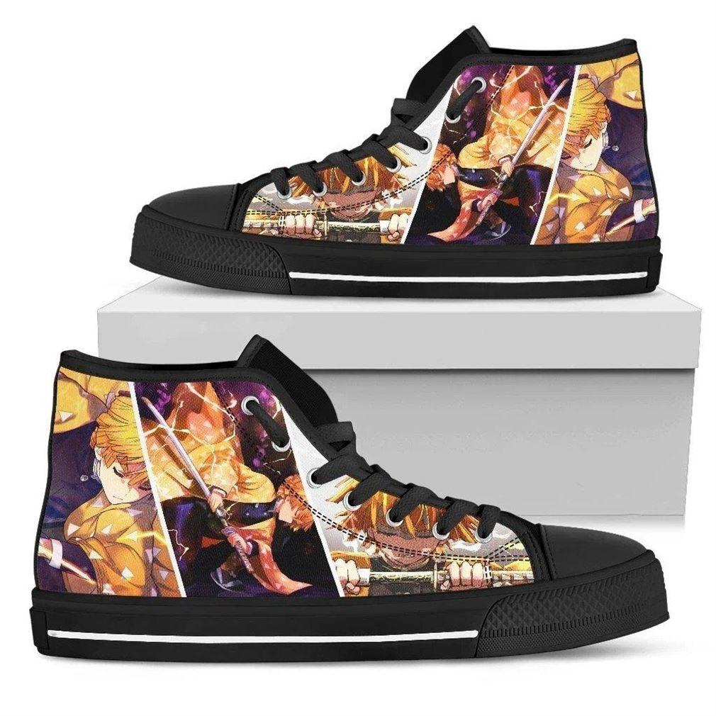Demon Slayer High Top Vans Shoes