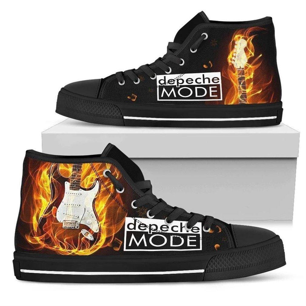 Depeche Mode High Top Vans Shoes