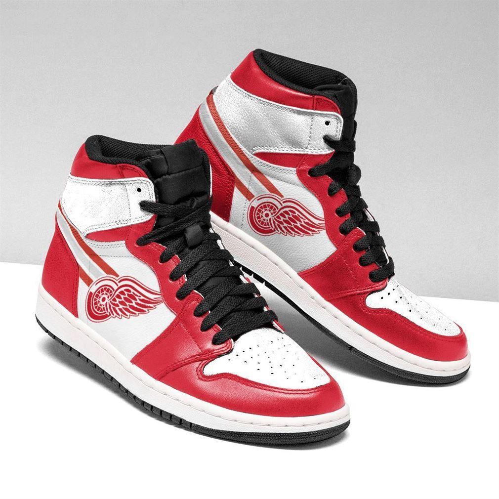Detroit Red Wings Nhl Air Jordan Sneaker Boots Shoes