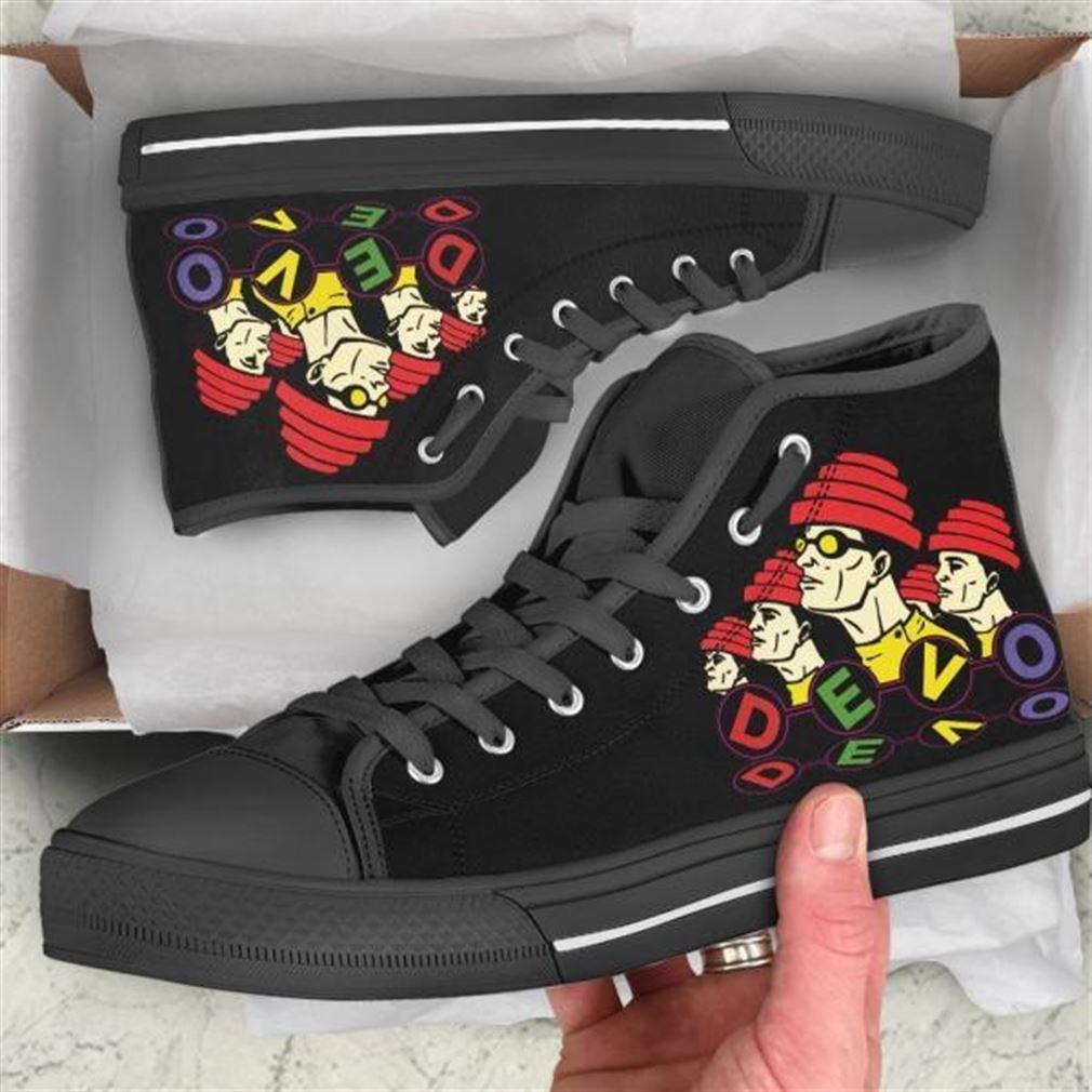 Devo High Top Vans Shoes