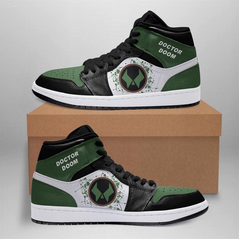 Doctor Doom Marvel Air Jordan Sneaker Boots Shoes