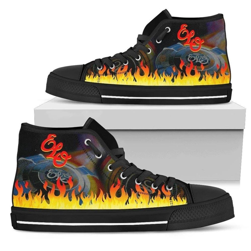 Electric Light Orchestra High Top Vans Shoes
