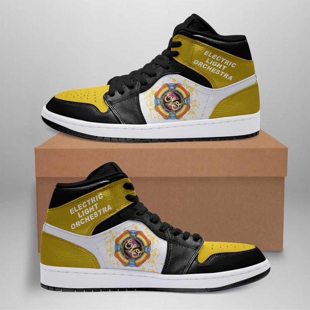 Electric Light Orchestra Rock Band Air Jordan Sneaker Boots Shoes