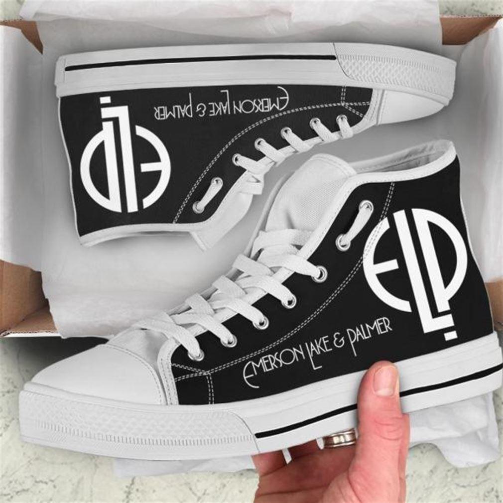Emerson Lake Palmer High Top Vans Shoes
