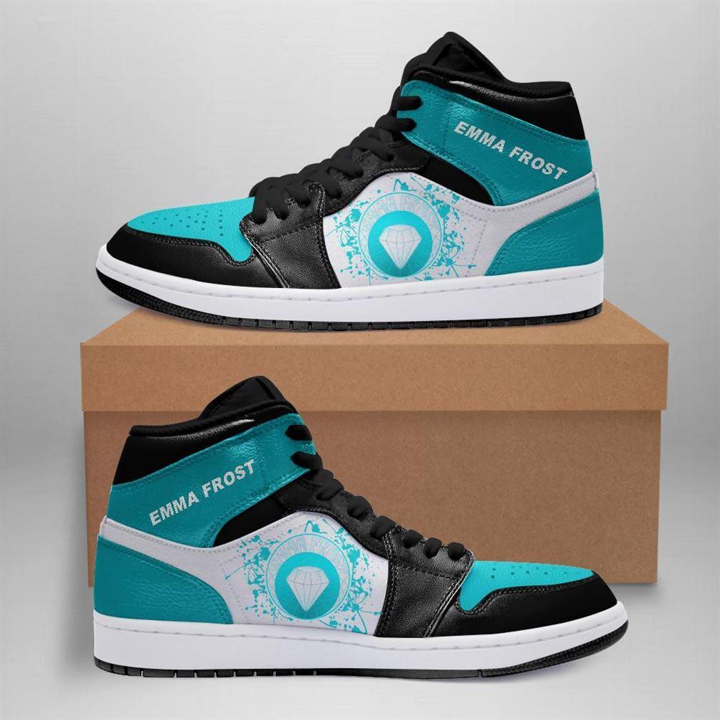 Emma Frost Marvel Air Jordan Sneaker Boots Shoes