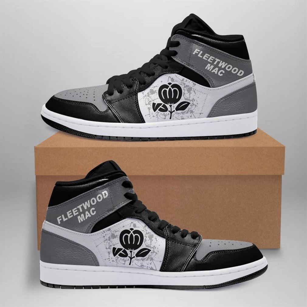 Fleetwood Mac Rock Band Air Jordan Sneaker Boots Shoes