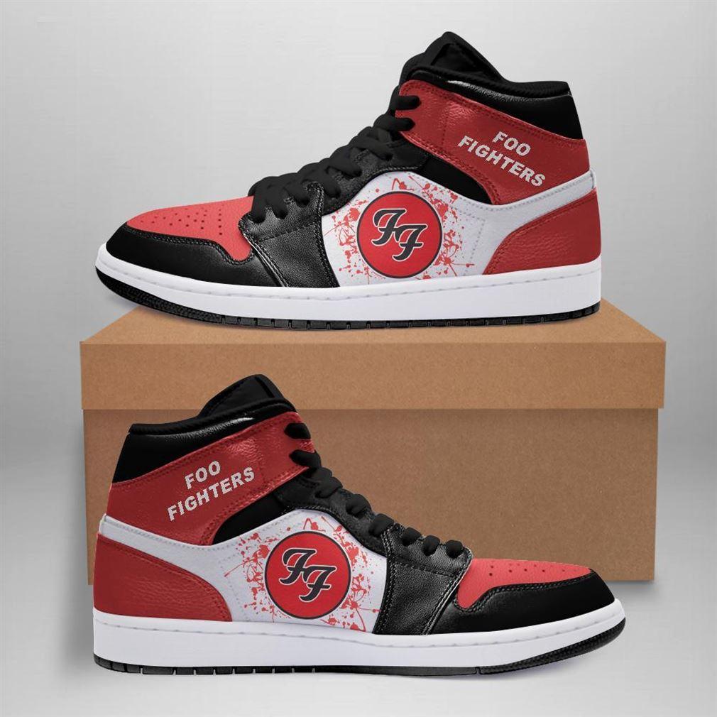 Foo Fighters Rock Band Air Jordan Sneaker Boots Shoes