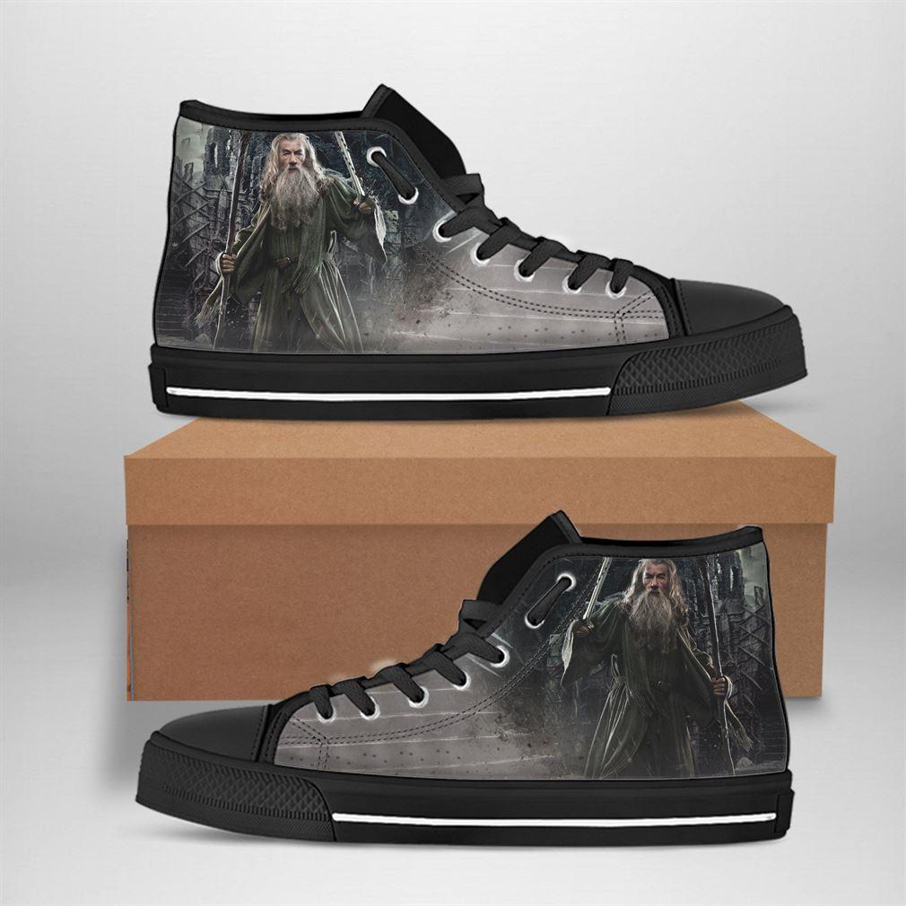 Gandalf Best Movie Character High Top Vans Shoes