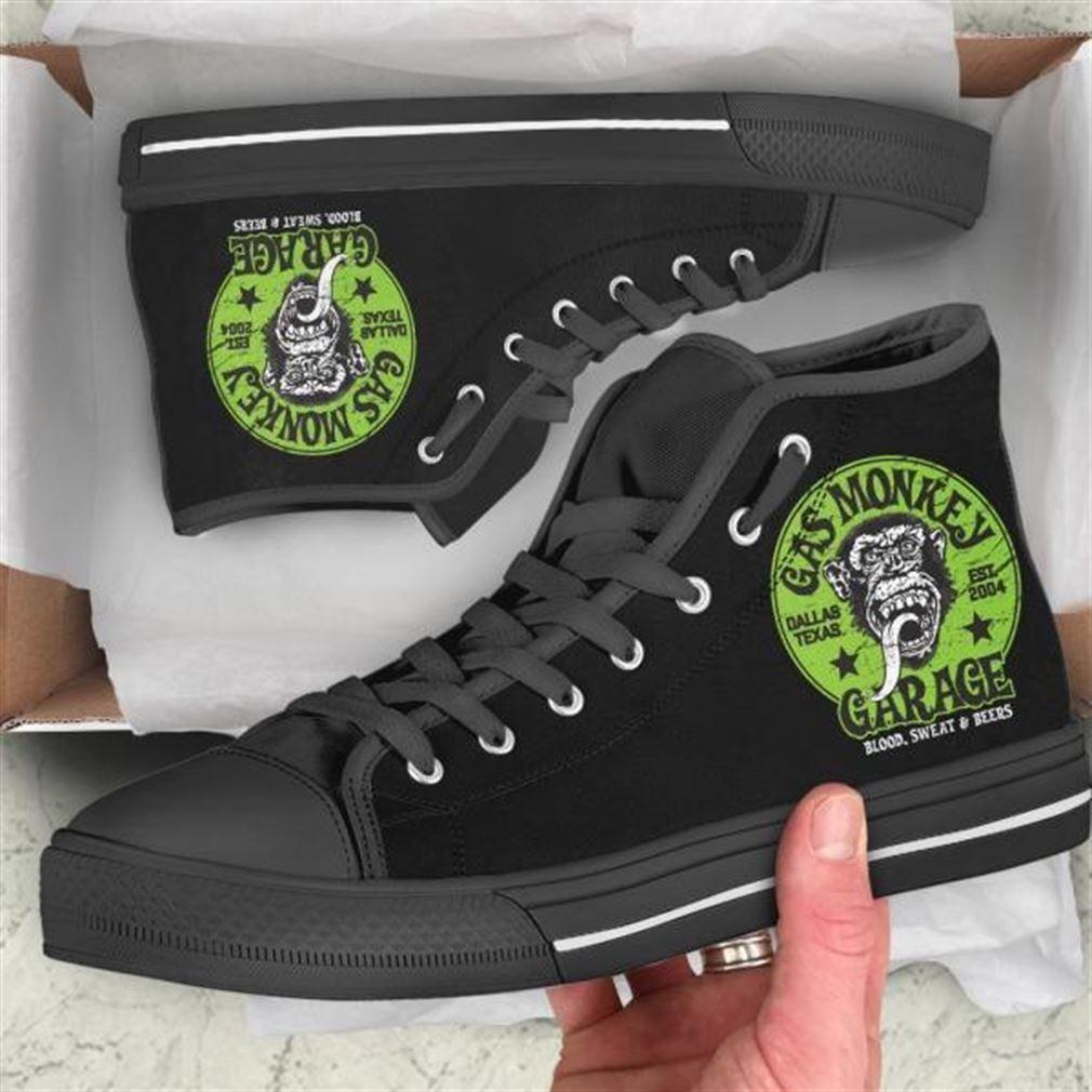 Gas Monkey High Top Vans Shoes