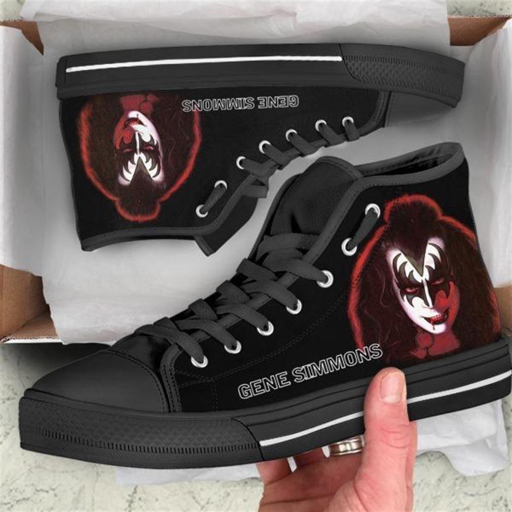 Gene Simmons High Top Vans Shoes