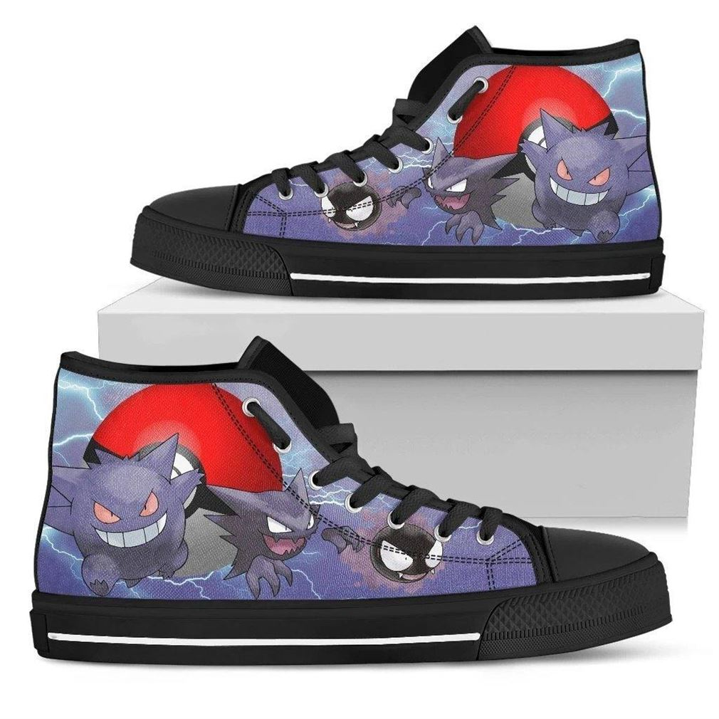 Gengar High Top Vans Shoes