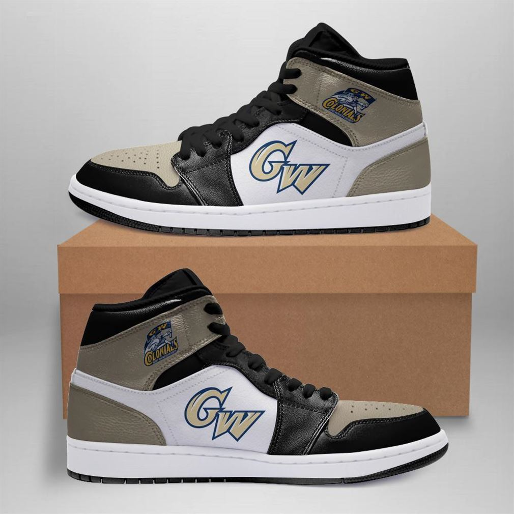 George Washington Colonials Ncaa Air Jordan Sneaker Boots Shoes