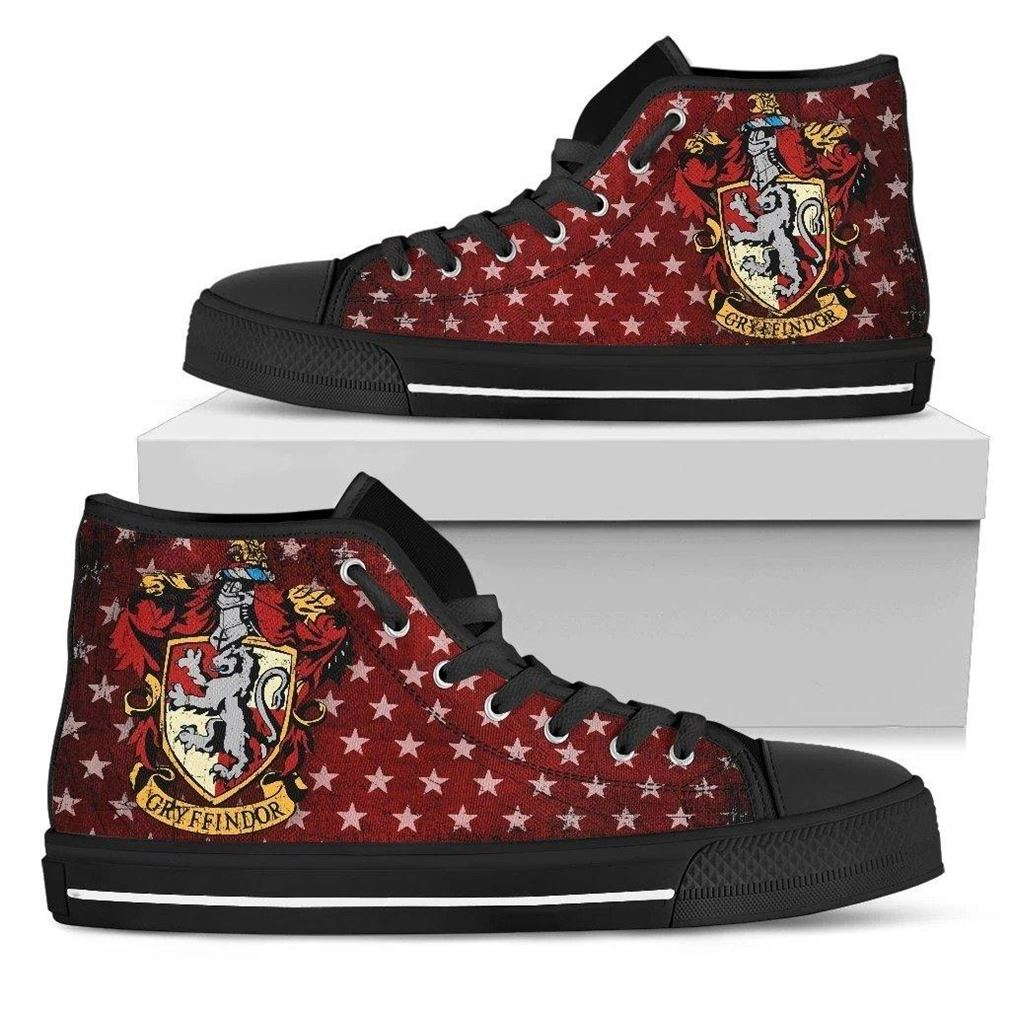 Gryffindor Character High Top Vans Shoes
