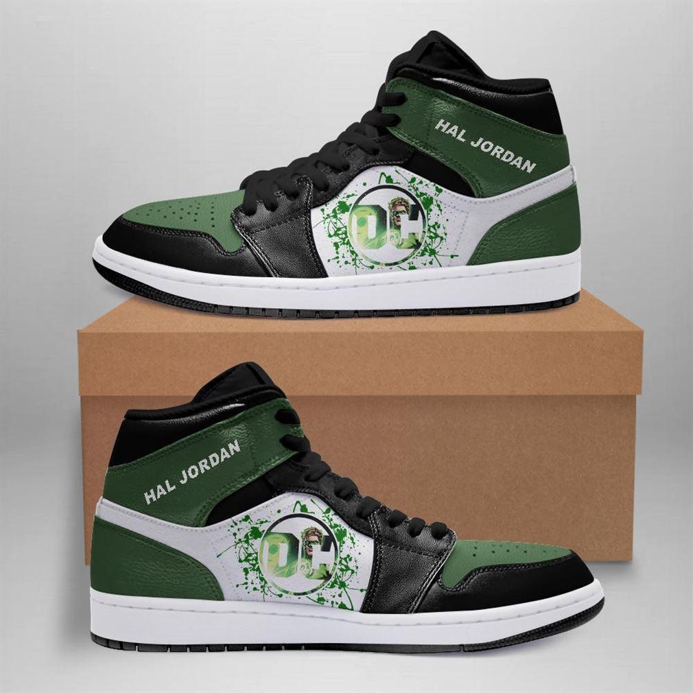 Hal Jordan Dc Comics Air Jordan Sneaker Boots Shoes