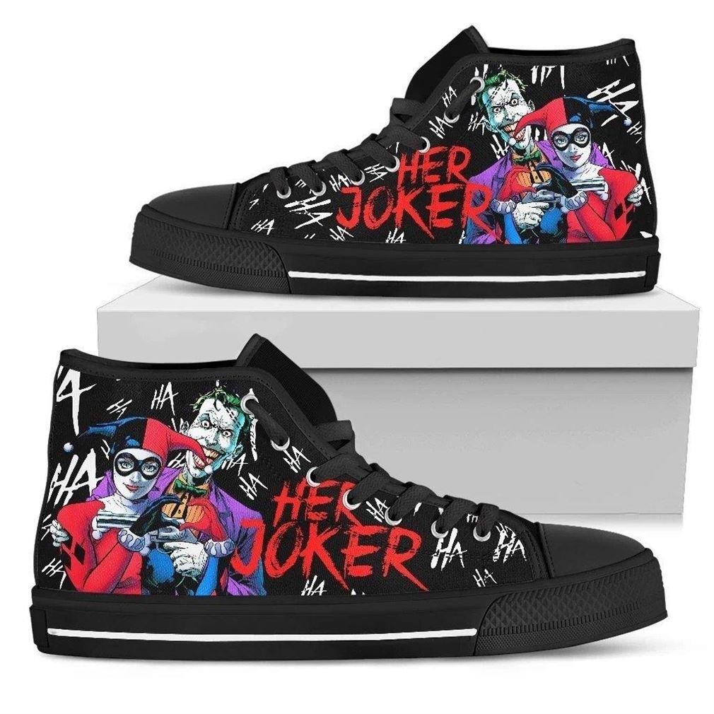 Her Joker High Top Vans Shoes
