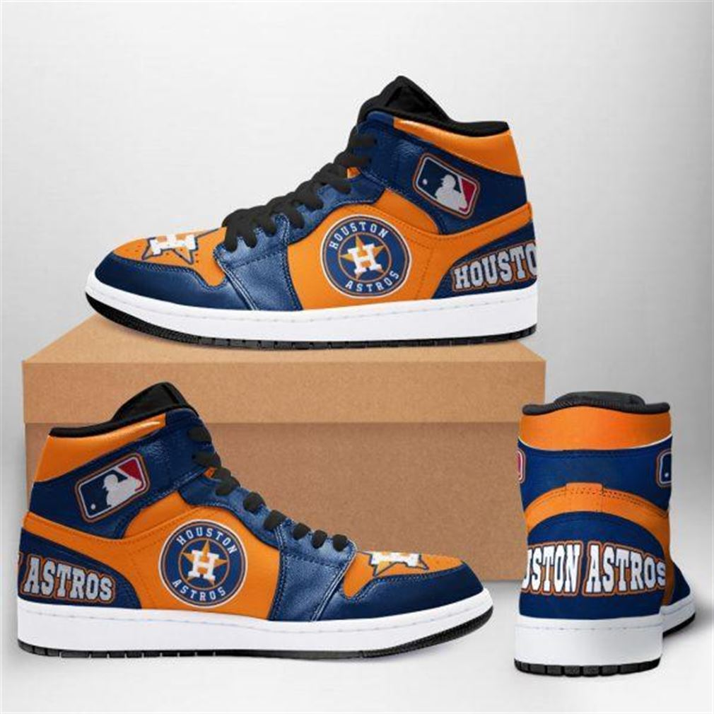 Houston Astros Mlb Baseball Air Jordan Sneaker Boots Shoes