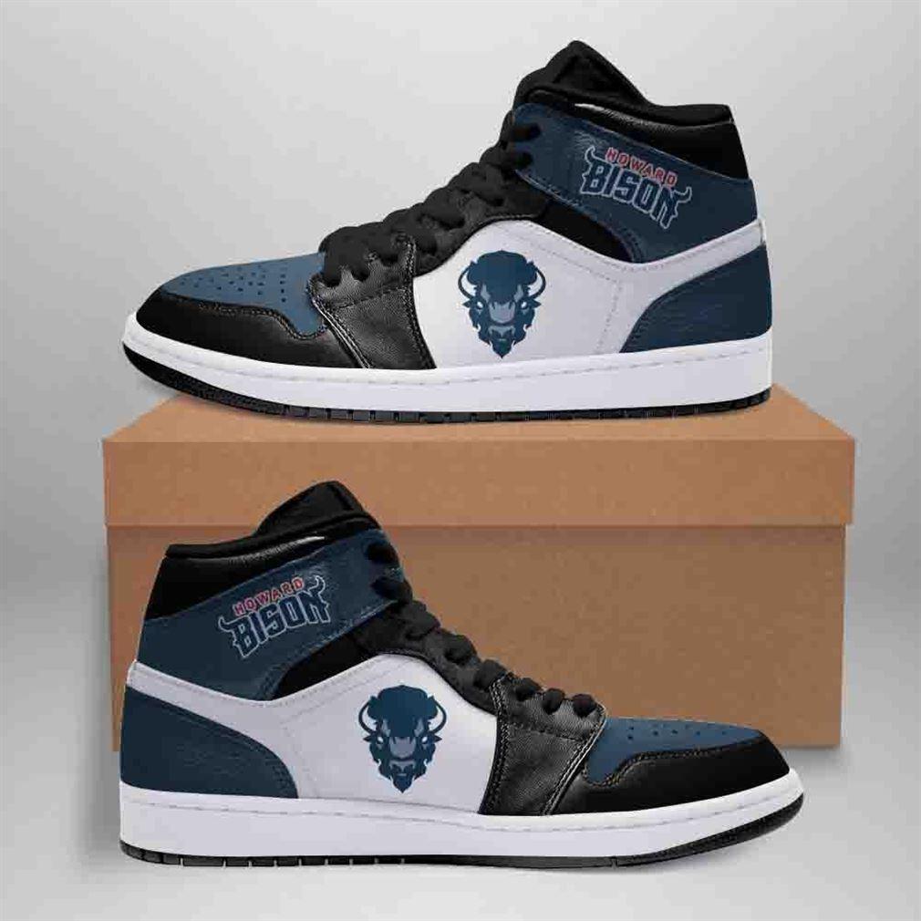 Howard Bison Ncaa Air Jordan Sneaker Boots Shoes