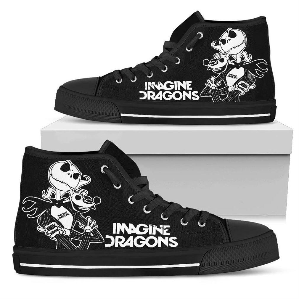 Imagine Dragons High Top Vans Shoes