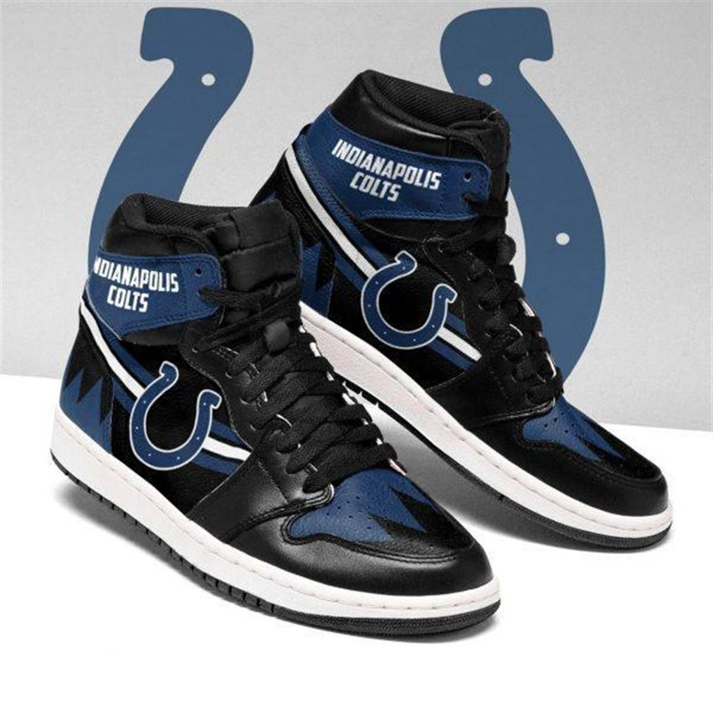 Indianapolis Colts Nfl Football Air Jordan Sneaker Boots Shoes