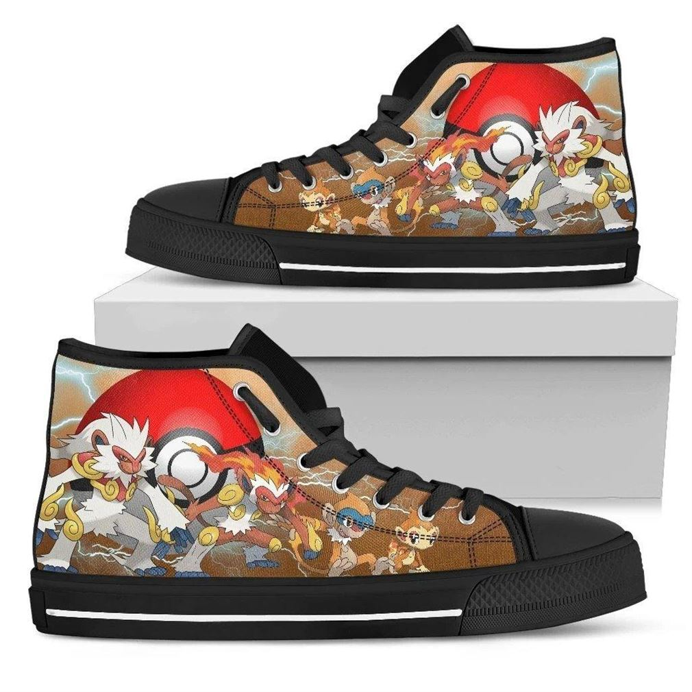 Infernape High Top Vans Shoes