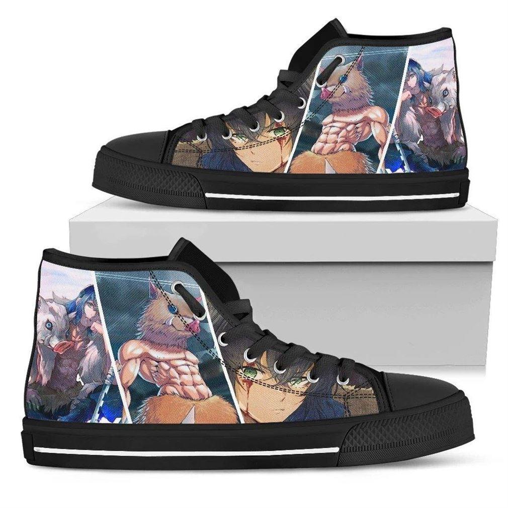 Inosuke High Top Vans Shoes