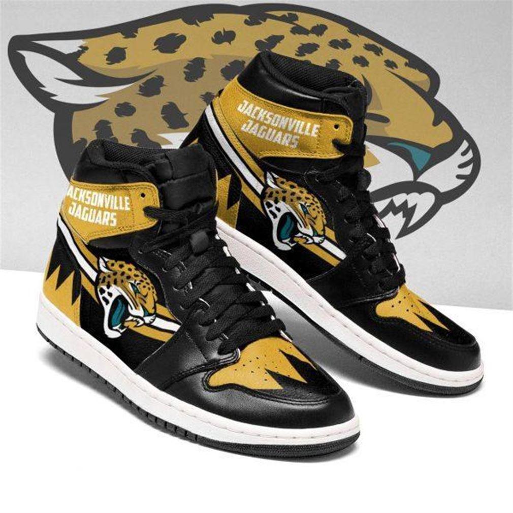 Jacksonville Jaguars Nfl Football Air Jordan Sneaker Boots Shoes