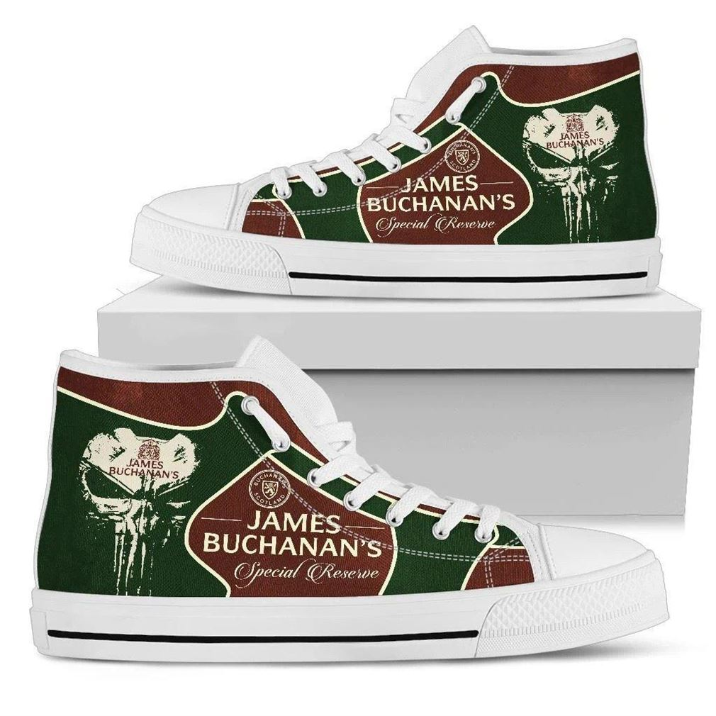 James Buchanans High Top Vans Shoes