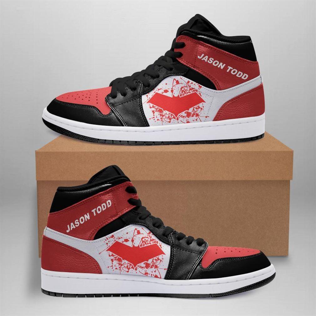 Jason Todd Dc Comics Air Jordan Sneaker Boots Shoes