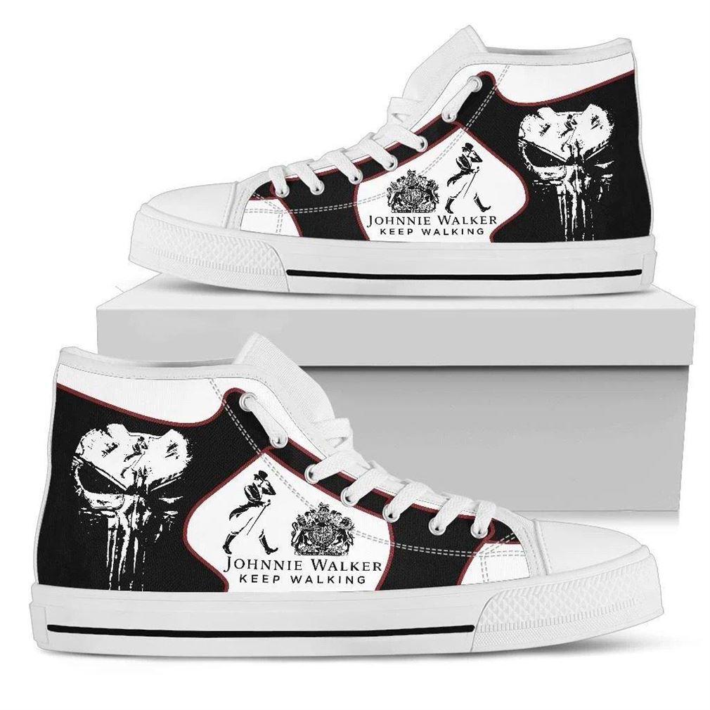 Johnnie Walker High Top Vans Shoes