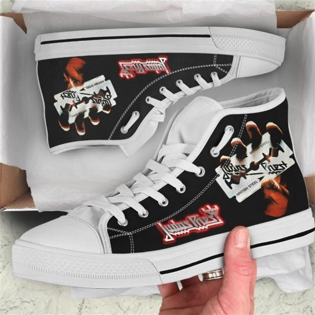 Judas Priest High Top Vans Shoes