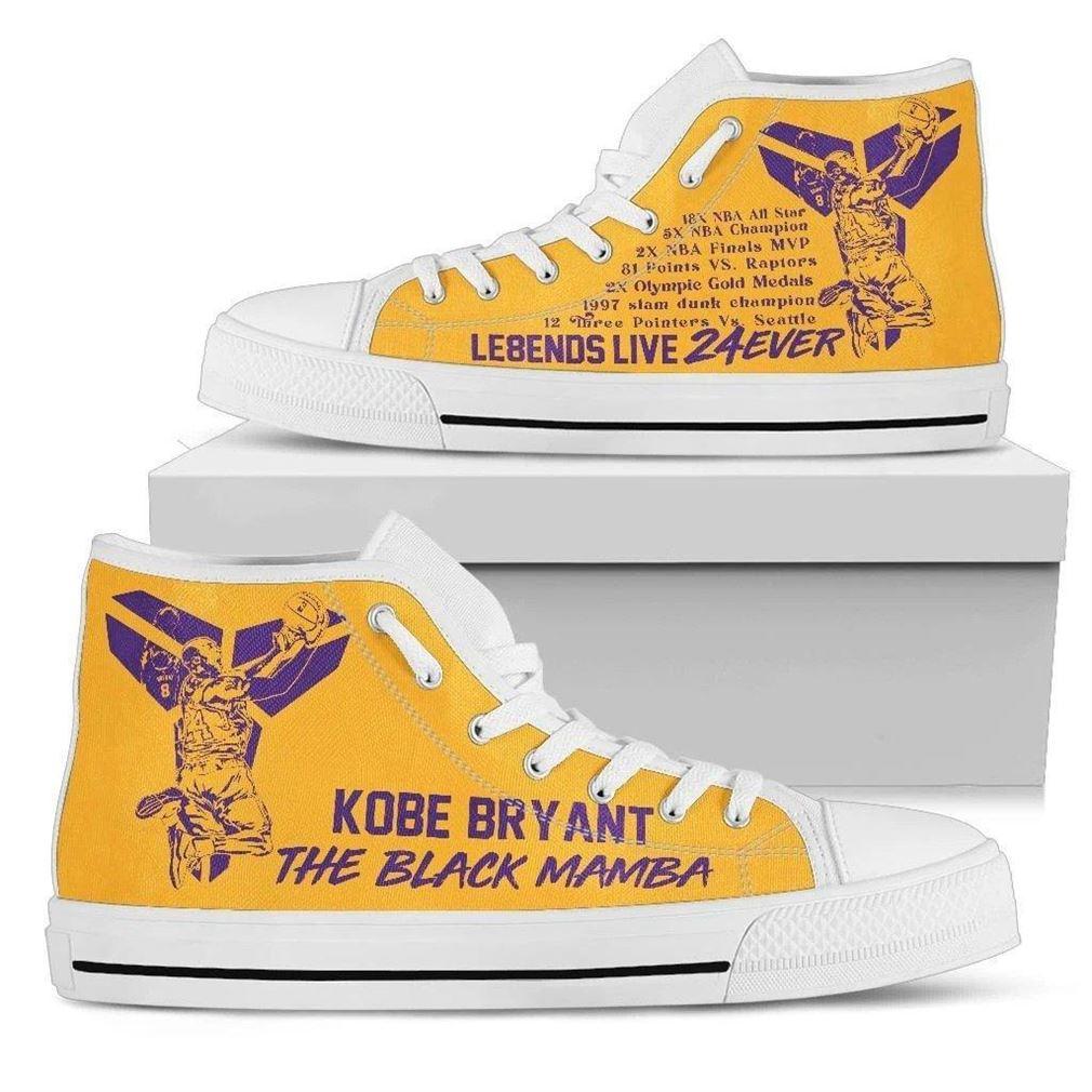 Kobe Bryant High Top Vans Shoes