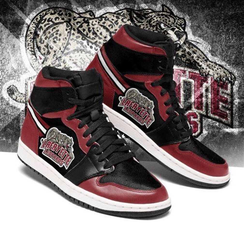 Lafayette Leopards Ncaa Air Jordan Sneaker Boots Shoes