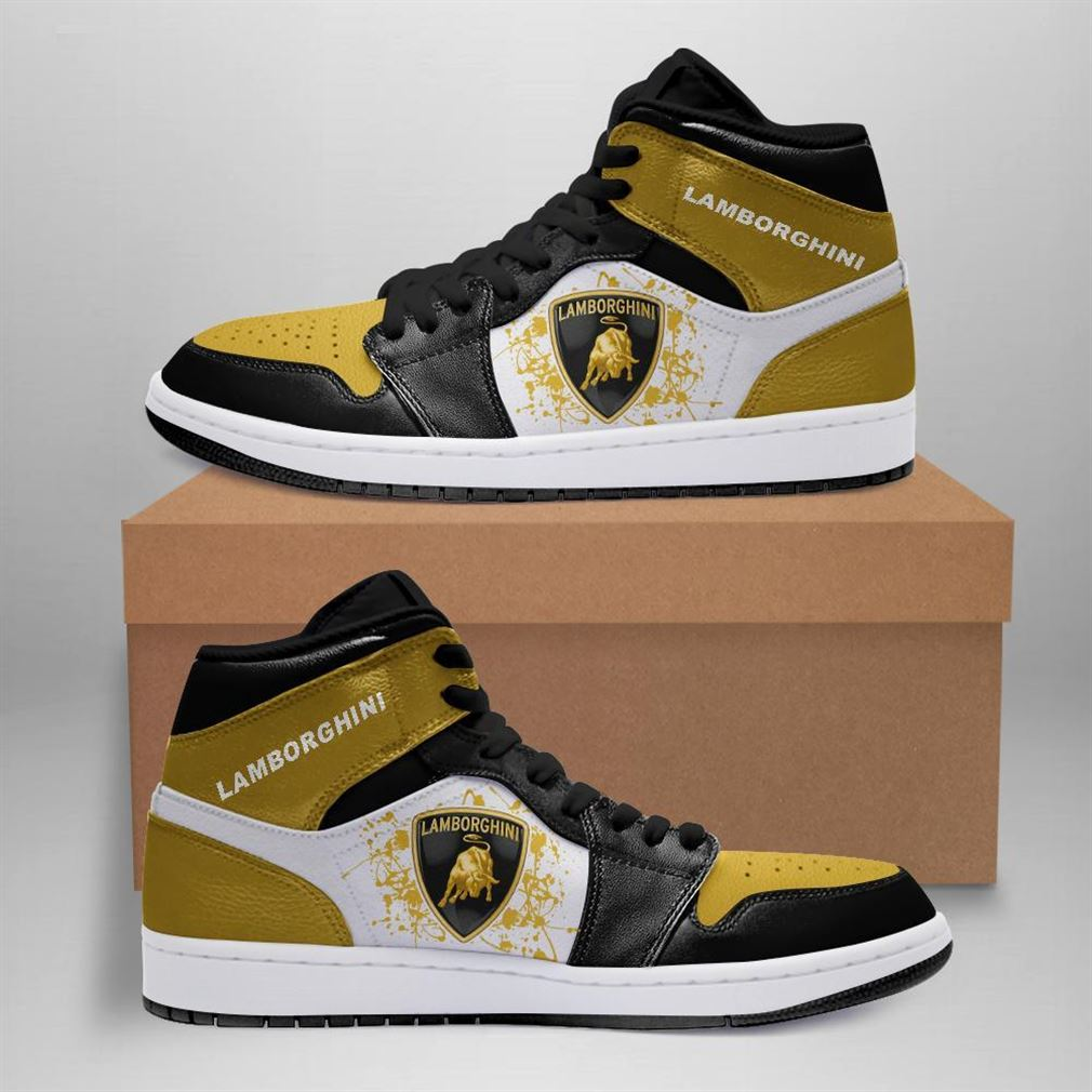 Lamborghini Automobile Car Air Jordan Sneaker Boots Shoes